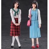 1/24 1980s Girls Figure (2pcs)