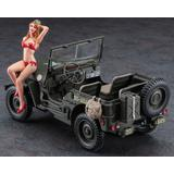 1/24 1/4-ton 4x4 Truck w/Blonde Girl Figure