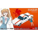 1/24 Rebuild of Evangelion: NERV Official Business Coupe w/Asuka Langley Shikinami