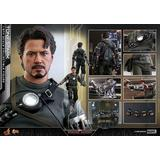 1/6 Movie Masterpiece Fully Poseable Figure: Iron Man Tony Stark (Mech Test Version 2.0)