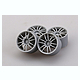 1/24 18-inch Enkei GTC01 Wheels