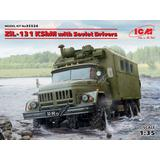1/35 ZiL-131 KShM with Soviet Drivers