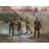 1/35 WWII Soviet BM-13-16 MLRS Vehicle Crew