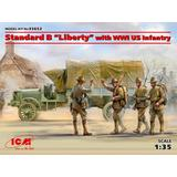 1/35 Standard B Liberty with WWI US Infantry