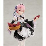 1/7 Re:ZERO -Starting Life in Another World-: Ram Tea Party Ver. PVC