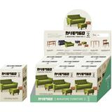 Karimoku 60 Miniature Furniture Ver.2 Box Ver.: 1 Box (9pcs) (Reissue)