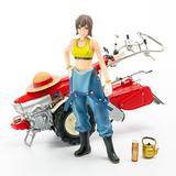 1/20 PLAMAX MF-21: minimum factory Minori with Honda F90 Tiller (Reissue)