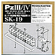 1/35 Panzer. Mk.III/IV Late Model Type A Spare Track Set (workable)