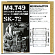 1/35 M4 Sherman Replacement Track T49