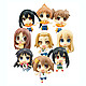 Cutie Figure Mascot K-On!! Part2: 1 Box 9pcs