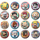 Can Badge Collection Naruto Shippuden Shinobi World War Dattebayo! Arc: 1 Box (16pcs)