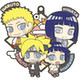 Rubber Mascot Buddy Collection: Boruto- Naruto Next Generation Families: 1 Box (6pcs)