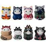 Nyaruto! Naruto: Konoha Happy Cats Arc: 1 Box (8pcs)