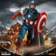 1/12 One:12 Collective Marvel Universe: Real World Captain America