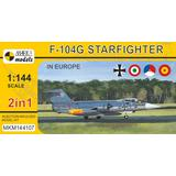 1/144 F-104G Starfighter In Europe (2in1)
