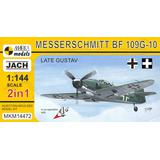 1/144 Bf 109G-10 Late Gustav (2 in 1)