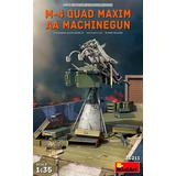 1/35 M-4 Quad Maxim AA Machinegun