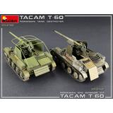 1/35 TACAM T-60 Romanian Tank Destroyer Interior Kit