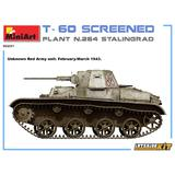 1/35 T-60 Screened (Plant No.264 Stalingrad) Interior Kit