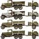 1/35 Soviet 2T Truck AAA Type w/Field Kitchen