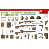 1/35 Soviet Infantry Weapons & Equipment. Special Edition