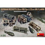 1/35 German Rockets 28cm WK Spr & 32cm WK FLAMM