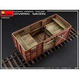 1/35 Russian Imperial Railway Covered Wagon