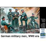 1/35 German Military Men, WWII Era
