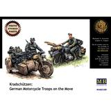 1/35 German Motorcycle Troops on the Move