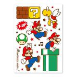 Super Mario Home & Party Wall Sticker (Action)
