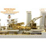 1/350 Royal Navy Heavy Cruiser HMS Exeter 1939 Detail Set (for Trumpeter)