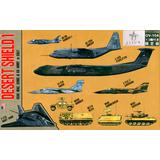 1/700 Desert Shield 1 Special (with Metal OV-10A Bronco 3pcs)