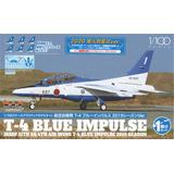 1/100 JASDF T-4 Blue Impulse 2020 the Flame with an Arrival Ceremony Ver.