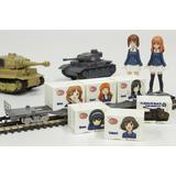 1/150 Girls und Panzer Final Chapter Mini Character Container Set of 3 Angler Team Part 1