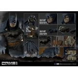 1/5 Concept Masterline Batman Arkham Origins: Gotham by Gaslight Batman Statue Blue ver