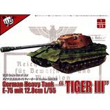 1/35 German E-75 Tiger III mit 12.8 L/55