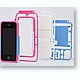 iPhone 4/4S Case Plastic Model Kit B Parts White