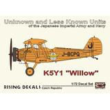 1/72 K5Y1 Willow Decal