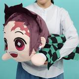 Demon Slayer: Kimetsu no Yaiba: Big Lying Down (Nesoberi) Plush Toy Tanjiro Kamado