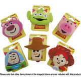 Toy Story: Plush Toy Badge Woody Face