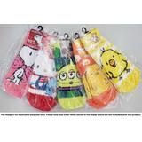 Mokkomoko Socks Moomin Little My Border Ladies 23-25cm