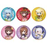 KonoSuba: God's Blessing on this Wonderful World! Legend of Crimson: Trading Can Badge (Chara Dolce) 1 Box 6pcs