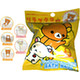 Rilakkuma Original Bath Ball Hooked Figure Bath Ball: 1 Box (6pcs)