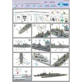1/700 Gearing Class Destroyer USS DD-742/DD-831 Photo-Etched Parts