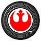 Star Wars Electronic Figure Base Rebel Alliance Ver.