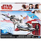 Star Wars: Mid Vehicle Resistance Ski Speeder w/Poe Dameron Figure