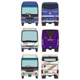 1/150 The Bus Collection: Kansai International Airport (KIX) Bus Set A