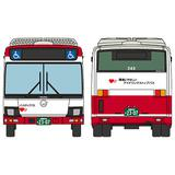 1/150 Zenkoku Bus Collection: JB072 Hiroshima Bus