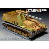 1/35 WWII German Sd. Kfz. 165 Hummel Armour Plate/Fenders (For Tamiya 35367)