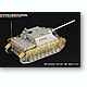 1/35 WWII German Jagdpanzer IV/70(A) Thoma Shields Wire Mesh Schurzen (for Dragon)